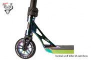 Bestial Wolf Killer K6 Rainbow ® - Scooter Nivel Pro, altura 93 cm.✓