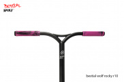 Bestial Wolf Rocky R10 Crazy ® ➨ Scooter freestyle XL, +12 años