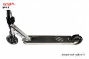 Bestial Wolf Rocky R10 Silver ® - Scooter freestyle de nivel avanzado
