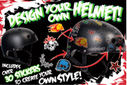 Casco SFR Essentials personalizable con Pegatinas
