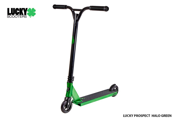 Scooter Freestyle Lucky Prospect ® Halo Green➨ Scooter Nivel Avanzado