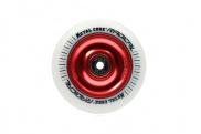 Rueda de Patinete Scooter Metal Core Radical Blanca - 110 mm.