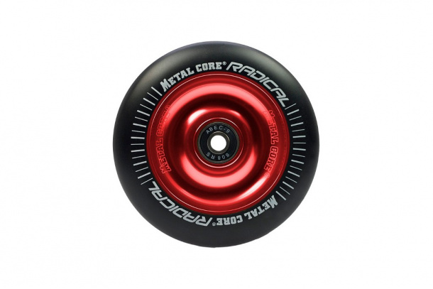 Rueda de patinete scooter Metal Core 110mm. Negra