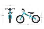 Bicicleta sin pedales Yedoo Too Too C para niños de entre 2 y 4.5 años