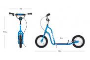 Patinete de ruedas inflables Yedoo Twoo 02 ® ➨ a partir de 5 años.