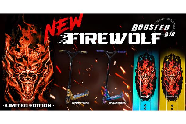 Bestial Wolf Booster B18 Firewolf