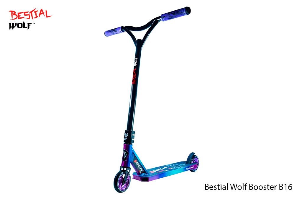 Bestial Wolf Booster B16 Carter Edition ® - Scooter de nivel medio