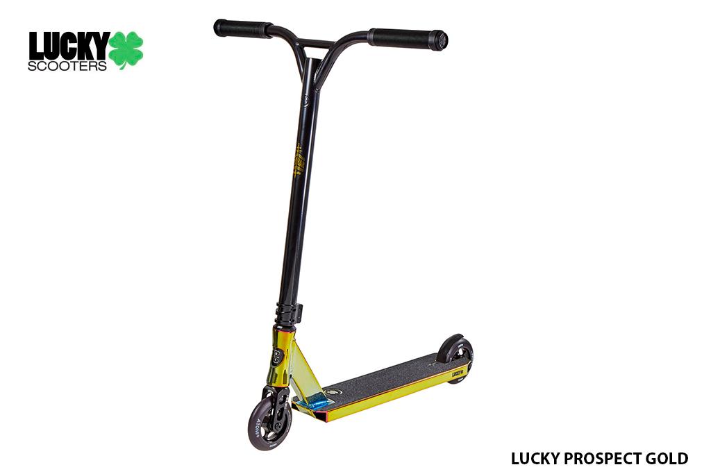 Scooter Lucky Prospect Gold ®, nivel avanzado y edad entre 8 y 11 años