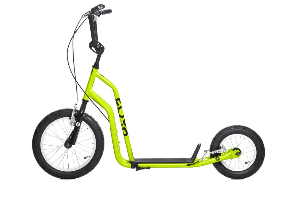 """Patinete de ruedas grandes Yedoo Four 04 ® ➨ ruedas de 16"""" y 12""""."""