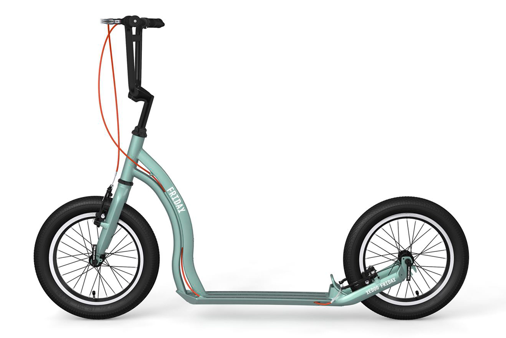 Patinete de ruedas grandes ultraligero Yedoo Friday ® ➨ Peso  7Kg